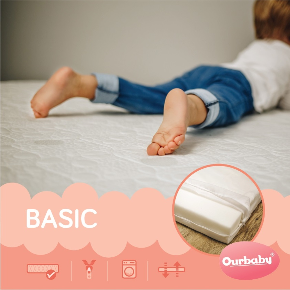 Matrace Ourbaby Basic